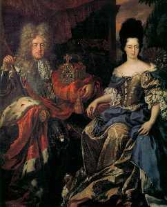Elector Palatine Johann Wilhelm von Pfalz-Neuburg and Anna Maria Luisa de' Medici