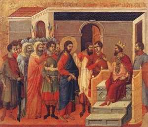Cristo davanti a Erode