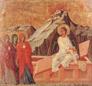 i tre Marys presso la tomba