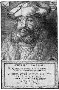 Portrait of Frederick the Wise
