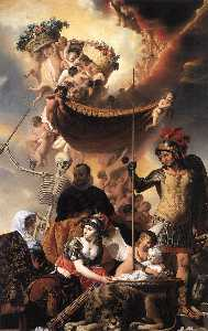 Allegory of the Birth of Frederik Hendrik