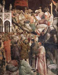 The Triumph of the Cross (detail)