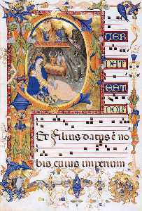 Gradual 1 for San Michele a Murano (Folio 38v)