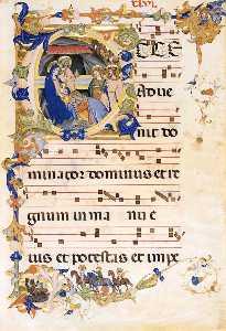 Gradual 1 for San Michele a Murano (Folio 46)