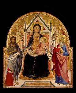 麦当娜和孩子 与 Sts 施洗约翰 和保罗