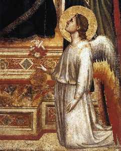 Madonna di Ognissanti particolare