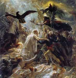 Ossian Receptora los fantasmas de francés Héroes