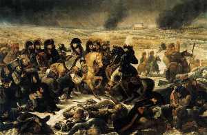 Napoleon Bonaparte on the Battlefield of Eylau, 1807