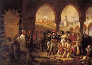Napoleon Bonaparte Visiting the Plague-stricken at Jaffa