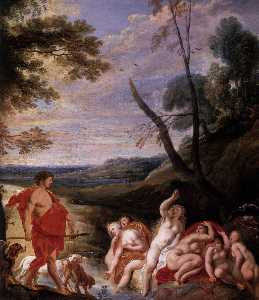 Diana and Actaeon (detail)