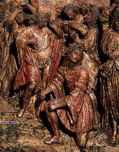 The Marriage of the Virgin (detail)