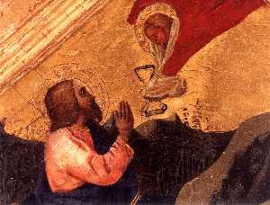 Christ in the Garden of Gethsemane (detail)