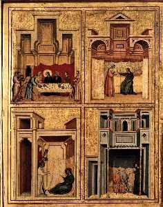 Saint Cecilia Altarpiece (detail)