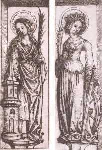 St Barbara, St Catherine