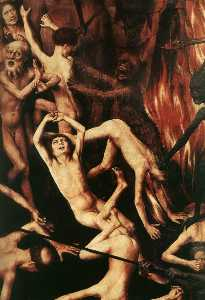 Last Judgment Triptych (detail) (12)