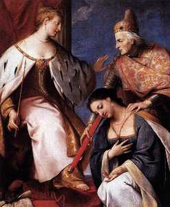 Doge Morosini Offers the Reconquered Morea to Venice