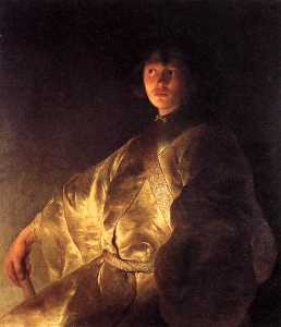 Young Man in a Yellow Robe
