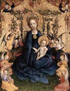 Madonna of the Rose Bush