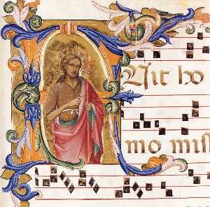 Antiphonary (Cod. Cor. 8, folio 102)