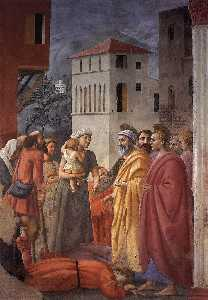 The Distribution of Alms and the Death of Ananias