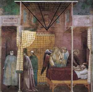 Legend of St Francis: 26. The Healing of a Devotee of the Saint