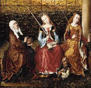 Wikioo.org - The Encyclopedia of Fine Arts - Artist, Painter  Master Of The View Of Ste Gudule (Meester Van Het Gezicht Op Sint Goedele)
