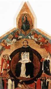 trionfo di san Tommaso  Aquino