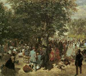 Afternoon at the Tuileries Garden