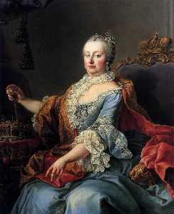 Queen Maria Theresia of Hungary