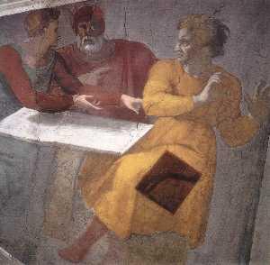 Punishment of Haman (detail)