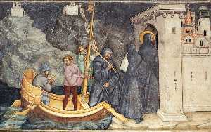 St Augustine Arriving in Carthage