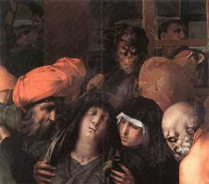 Deposition from the Cross (detail)