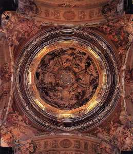 Decoration of the dome