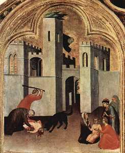 Blessed Agostino Novello Altarpiece (detail)