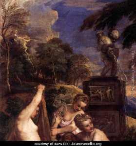 Diana and Callisto (detail)