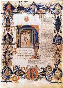Inferno, from the Divine Comedy by Dante (Folio 3v)