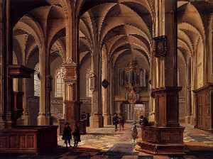 Interior of the Cunerakerk, Rhenen