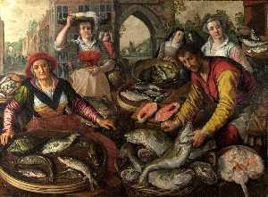 Wikioo.org - The Encyclopedia of Fine Arts - Artist, Painter  Joachim Beuckelaer