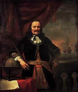 Portrait of Michiel Adriaansz de Ruyter