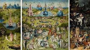 триптих сада земных восхищений
