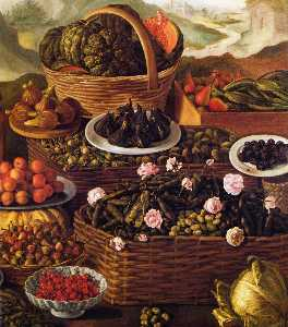 Fruit Seller (detail)
