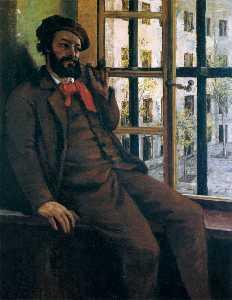 Self-Portrait at Sainte-Pélagie