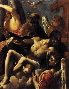 The Trinity with the Dead Christ