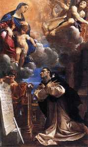 The Virgin Appearing to St Hyacinth