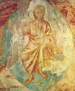 Apocalyptical Christ (detail)
