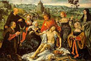 Altarpiece of the Lamentation (central)