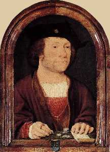 Portrait of Anthonis van Hilten
