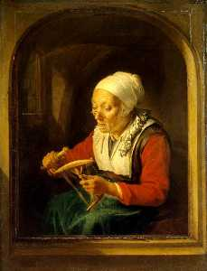 Wikioo.org - The Encyclopedia of Fine Arts - Artist, Painter  Gerrit Dou