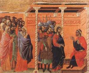 cristo accusato  mediante  dopodomani  farisei