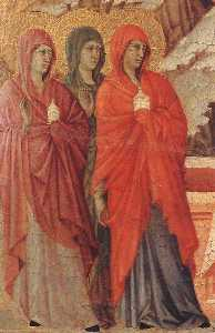 i tre Marys presso la tomba ( particolare )